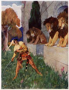 Golden Age Bohemian: Artuš Scheiner - 50 Watts | Illus. by Artuš Scheiner for Fairy Tales Of Božena Němcová