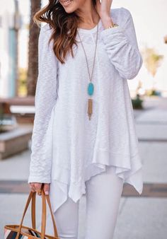 Loving this beautiful asymmetric sweater from SheIn!