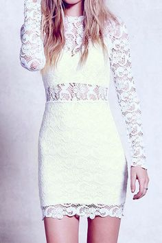 Cupshe Show Off Yourself Lace Dress