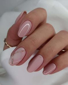 Chic Nails, Stylish Nails, Blush Pink Nails, Turqoise Nails, Pink Wedding Nails, Nail Pink, Wedding Manicure, Wedding Nails Design, Pinterest Nail Ideas
