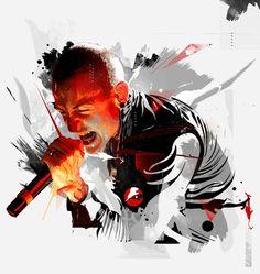 Linkin Park / Grunge in Motion on Behance