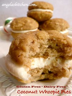 Gluten Free Dairy Free Coconut Whoopie Pies | Grain Mill Wagon