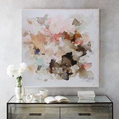 modern abstract art,Contemporary art,soft colors abstract painting ,large absrtact,warm tone abstract - Sites new Modern Art Movements, Large Canvas Art, Canvas Size, Watercolor Artists, Watercolor Paintings, Art Moderne, Art Mural, Home Decor Wall Art, Contemporary Paintings