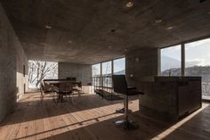 L House, Florian Busch Architects, Niseko Japan, Living