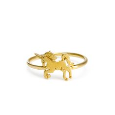 life is magical unicorn ring #dogeared