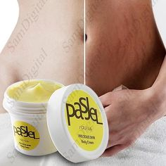 Stretch Mark Remover Essential Skin Care Treatment Cream PASJEL Stretch Marks Maternity Oil Product Features: PASJEL pregnancy repairing cream, remove stretch marks treatment (Postpartum repair whiten