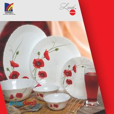 It is the season to celebrate with LarahOpal Glass Dinnerset.