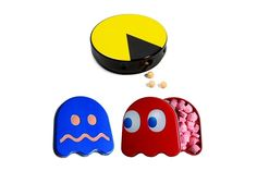 Pac-Man and Ghosts Candies (Set of 3)