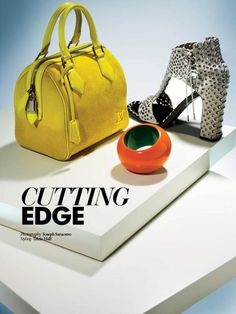 Cutting Edge. Off-figure styling by Tricia Hall of Judy Inc. Photo by Joseph Saraceno.