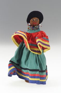 National Museum of the American Indian: Seminole Female doll, circa 1960