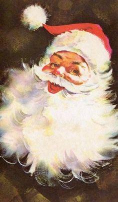 Santa Claus reminds me of Christmas as a kid at my grandmas ~k