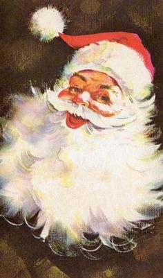 Santa Claus reminds me of Christmas as a kid at my grandmas ~k