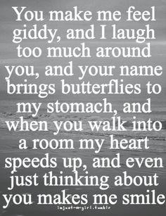 you make me feel...