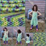 Puff Stitch Halter Dress