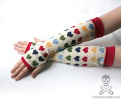 Up-cycled Sweater Arm Warmers