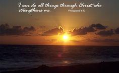God gives us strength.
