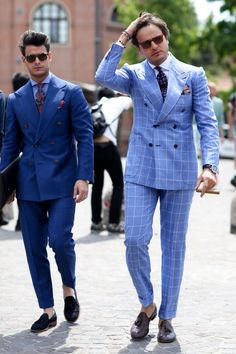 Pitti Uomo Street Style: The Boys Show a Little (Ankle) Skin - Fashionista