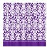 Purple damask Shower Curtain