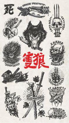 Old School Tattoo Designs, Japanese Tattoo Designs, Japanese Tattoo Art, Tattoo Designs Men, Japanese Art, Tattoo Design Drawings, Tattoo Sketches, Japan Tattoo Design, Black Ink Tattoos
