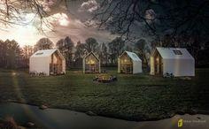 IdeasStudium - Architetural Marketing (Brasil - Itália) www.ideasstudium.com Work: Fotomontagem - Chalés no Camping Autores: Fabiano Damiati e William Ramos #ideasstudium #fotomontagem #maquete3d #camping #rendering #3d #humanizacao #chale #hut #field #campo #anoitecer #artedigital #arte #art #arquitetura #architecture #design #build #construcao
