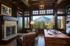If I had an office with a view like this, I would be so much more productive! I really would:) Gorgeous.