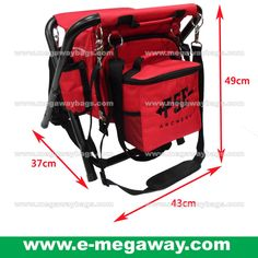 #Fishing #Camping #Camper #Hiking #Hiker #Black #Portable #Chair #Backpack #Cooler #Folding #Lighted #Weight #Easy #Carry #Travel #Must-Have #Picnic @MegawayBags #Megaway #MegawayBags #CC-1552-71702S-Red #釣魚椅 #露營椅 #野餐椅子 #摺椅子 #旅行必備, Luxury, Bags & Wallets on Carousell