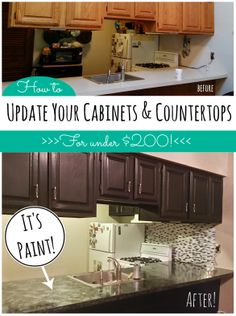 ... Paint on Pinterest DIY and crafts, Granite Countertops and Cabinets
