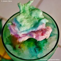 Recipes from Walt Disney World!  Cotton Candy Lemonade from Disney's Pop Century Resort!  Now to figure out how they keep it from melting!