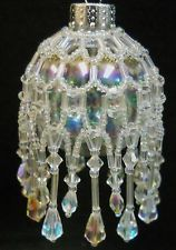 """PATTERN ONLY Beaded Christmas Ornament Cover Holiday Original """"Icicles"""""""