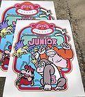 Donkey Kong Junior Jr Arcade Side Art Sideart both side - ARCADE, both, Donkey, Junior, Kong, Side, Sideart