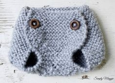 Knit Diaper Cover Pa