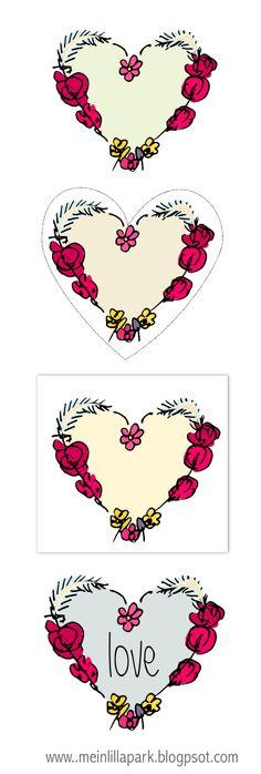 free scrap heart png's – digital heart doodle scrapbooking embellishment ♥