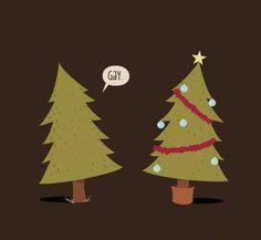Gay Christmas tree