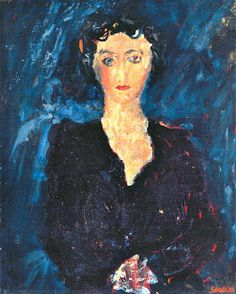 Chaïm Soutine  Portrait of a Lady, Painted around 1935