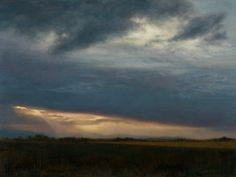 BREAKING THROUGH  Artist Lisa Larrabee's Landscape oil paintings