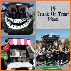 14 Trunk or Treat Ideas | Events To Celebrate