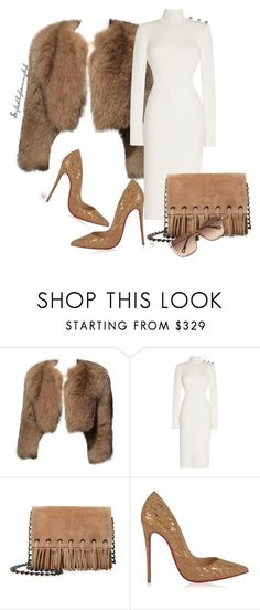 """""""#15"""" by stylewithlammybel-1 ❤ liked on Polyvore featuring Prada, Longchamp, Christian Louboutin and Chloé"""