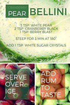 Another delicious summer recipe from our Skokie store. Can be made without rum for any age!