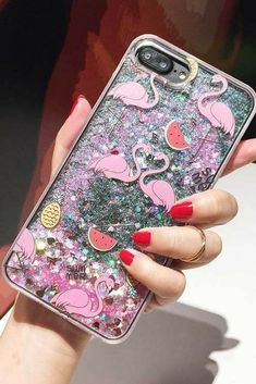 Flamingo iPhone 6, iPhone 6 Plus, iPhone 7, iPhone 7 Plus, iPhone 8, iPhone 8 Plus,iPhone X protective  Case For cute girl