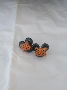 Aretes Minnie Naranjas