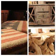 Texas pride #rustic #endtable #carvedwood #galleryfurniture