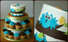 Owl Tower by Creative Cake Designs (Christina), via Flickr