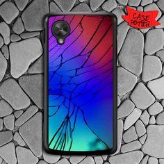 Broken Cracked Mirror Nexus 5 Black Case
