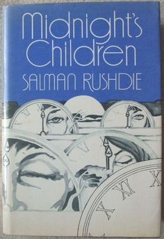 Midnight's Children by Salman Rushdie. First Edition Cover