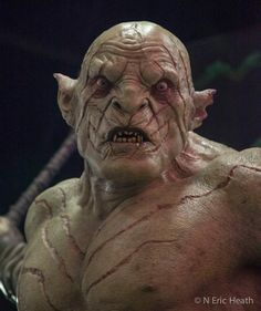 The Hobbit . Azog the Defiler . Azog The Defiler, J. R. R. Tolkien, Creature Concept, Creature Design, Werewolf, The Hobbit, Beautiful Creatures, Film, Art Reference