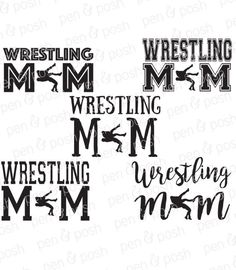 Wrestling Mom Shirts, Wrestling Quotes, Vinyl Projects, Vinyl Crafts, Design Projects, Mom Clipart, The Sporting Life, Fashion Design Template, Sports Mom