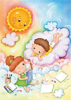 nice for kids Illustrations, Illustration Art, Certificate Background, Frame Border Design, Preschool Printables, Forest Fairy, Happy Kids, Kids Cards, Cute Kids