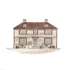 pureblyss - draw-a-city:   231. Cornforth House