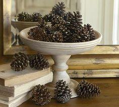 Seasonal Decorating with Pinecones