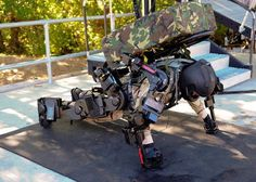 Exoskeleton (XOS 2) - It enables its wearer to easily lift 200 pounds several hundred times without tiring and repeatedly punch through three inches of wood. It makes you 17 times stronger than you are.